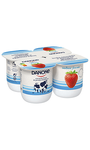 Yogur Danone Fresa x4