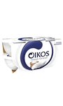 Yogur griego Oikos Natural azucarado x4