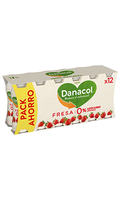 Yogur Danacol Fresa x12