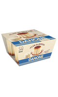 Flan de queso Danone x4