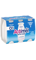 Actimel Defensas 0% Natural x6