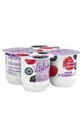 Yogur Vitalinea Frutas del bosque x4