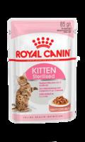 Snack Kitten Sterilised Royal Canin en Gelatina