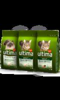 Ultima Cat control de pelos / adult pollo y arroz / adult salmon y arroz