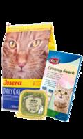 pack x3 - Pienso para Gato Josera DailyCat Ave de Corral / Snacks crema Trixie / Lovely Lamb Casserole (Cordero) LK Cat