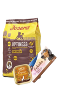 Organic Chicken Supper (pollo ecológico) ; Pienso para Perro Josera Optiness Cordero 900Gr ; Chocolate para Perros Trixie 100Gr