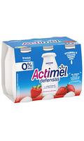 Actimel Defensas 0% Fresa x6